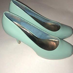 Turquoise Madden Girl Heels